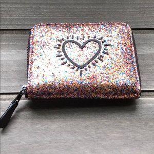 Coach Keith Haring Heart Wallet Multicolor